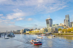 London, England skyline Stock Photography