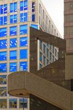 London, england: st magnus house, modern architecture stock images
