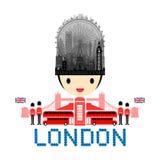 London, England Travel Landmarks Stock Photography