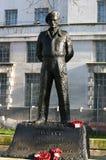 Statue of Viscount Montgomery of Alamein. Stock Photo
