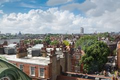 London, England,United Kingdom 2017 June 16: Kings road and city stock photography