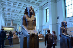 London - England United Kingdom. LONDON - MAY 15 2015:Visitors in the British Museum.The Museum contain almost 71,000 books, manuscripts, drawings, prints and stock photography