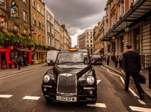 London - English street scene Royalty Free Stock Photography