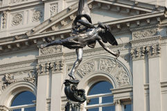 London Eros statue Royalty Free Stock Photo