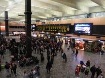 London Euston Station Royalty Free Stock Photos