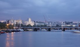 London at the evening Royalty Free Stock Images
