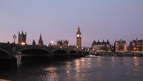 London evening Royalty Free Stock Photos