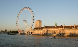 The London Eye Stock Image