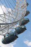 London Eye. The London Eye (aka Millennium Wheel) is the leading paid tourist attraction in the United Kingdom Stock Image