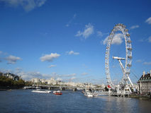 London Eye. The London Eye,in the capital city of London,England Royalty Free Stock Images