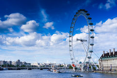 The London Eye stock photography