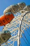 London Eye. The London Eye, London, England stock image