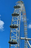 London Eye. A close up of part of the London Eye Stock Photo
