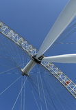 London Eye. The London Eye from the ground up Stock Image