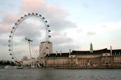 London Eye. In London, UK Royalty Free Stock Photography