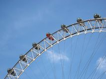 London eye. The london eye Stock Photos