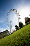 London eye stock photography