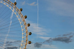 London Eye Abstract stock image