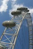 The London Eye from below Royalty Free Stock Photo