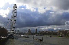 London eye and Big Ben Stock Image