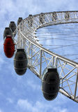 London eye with blue sky Stock Photos