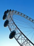 London Eye. With the blue sky background Royalty Free Stock Image