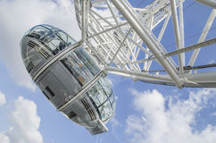 London eye cab Royalty Free Stock Images