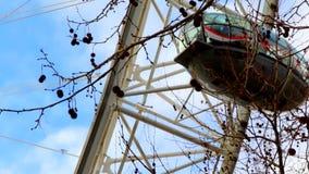 The London Eye cabin stock footage