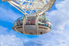 London Eye cabin Royalty Free Stock Images