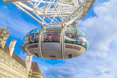 London Eye cabin Royalty Free Stock Photo