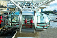 London Eye cabin Royalty Free Stock Photography