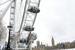 London Eye. The London Eye,in the capital city of London,England Royalty Free Stock Image