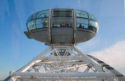 London Eye Capsule Royalty Free Stock Image