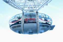 London Eye Capsule Royalty Free Stock Images