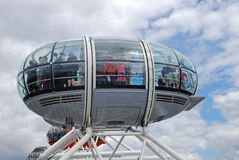London Eye Capsule. Stock Photos