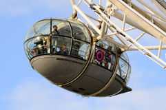 London Eye Carriage Royalty Free Stock Images