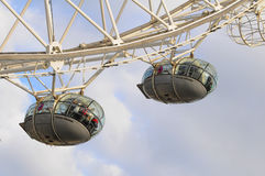 London Eye Carriage Stock Images