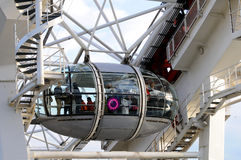 London Eye Carriage -detail Stock Images