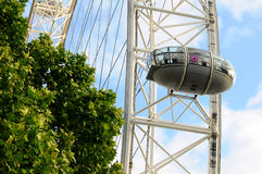 London Eye Carriage -detail Royalty Free Stock Photos