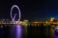 London eye city scape Royalty Free Stock Photo