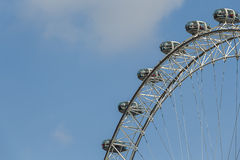 London Eye Close Up Royalty Free Stock Photography
