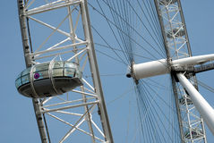 London Eye Closeup Stock Images