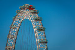London Eye detail Royalty Free Stock Images