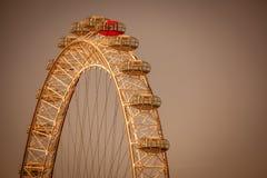 London Eye detail Royalty Free Stock Photo