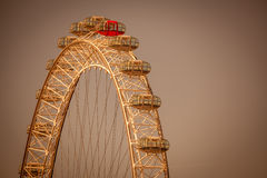 London Eye detail Royalty Free Stock Photo