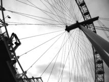 London eye detail stock photo