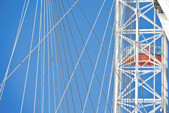 London eye details Royalty Free Stock Photo
