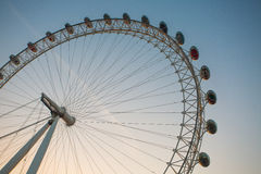 London Eye details Royalty Free Stock Photography