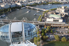 The London Eye, England Royalty Free Stock Image