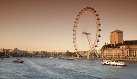 The London Eye, England Royalty Free Stock Photo